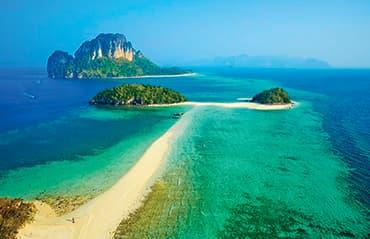 ทัวร์กระบี่ เที่ยวทะเล ดำน้ำชมปะการัง ชมความมหัศจรรย์ของธรรมชาติ ณ น้ำตกร้อน 4 วัน 2 คืน โดยรถตู้ปรับอากาศ